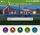 Parks, Recreation & Golf has a new website