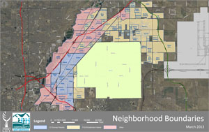 Commerce Colorado Map Neighborhood Projects | City of Commerce City, CO