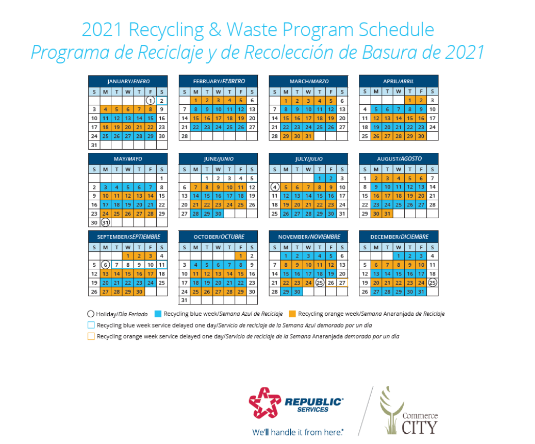 80129 Trash Pickup Christmas 2021 Trash Recycling City Of Commerce City Co
